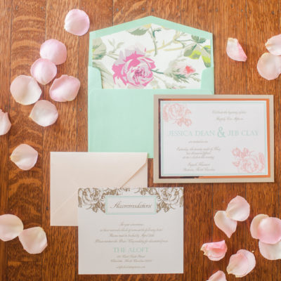 Rose gold & Seafoam Inspirational Shoot