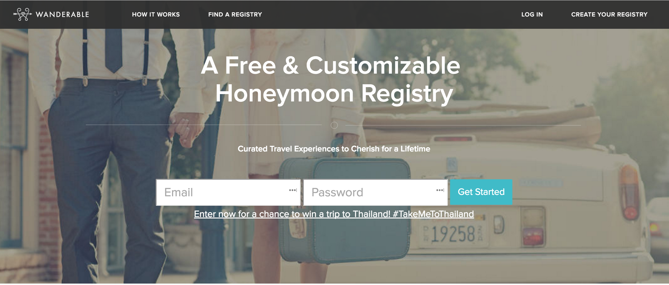 Best honeymoon registry