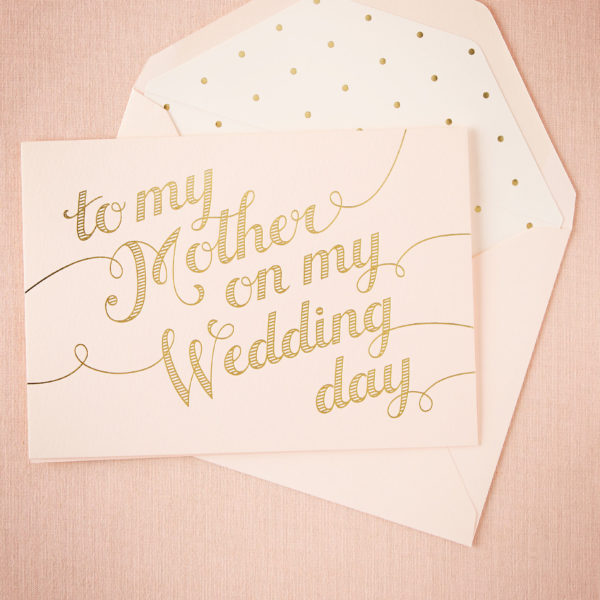 BHLDN - To My Mother Card