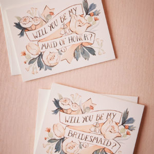 BHLDN - Will You Be Card