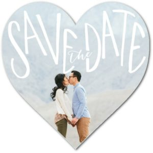 Boldly Affectionate Save The Dates