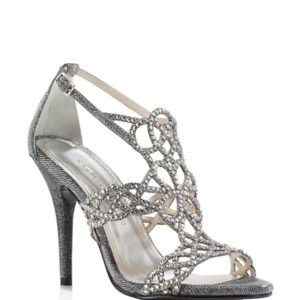 Caparros Armani Metallic Caged High Heel Sandals