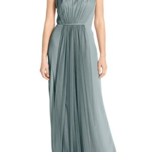 Chiffon & Tulle Halter Gowns