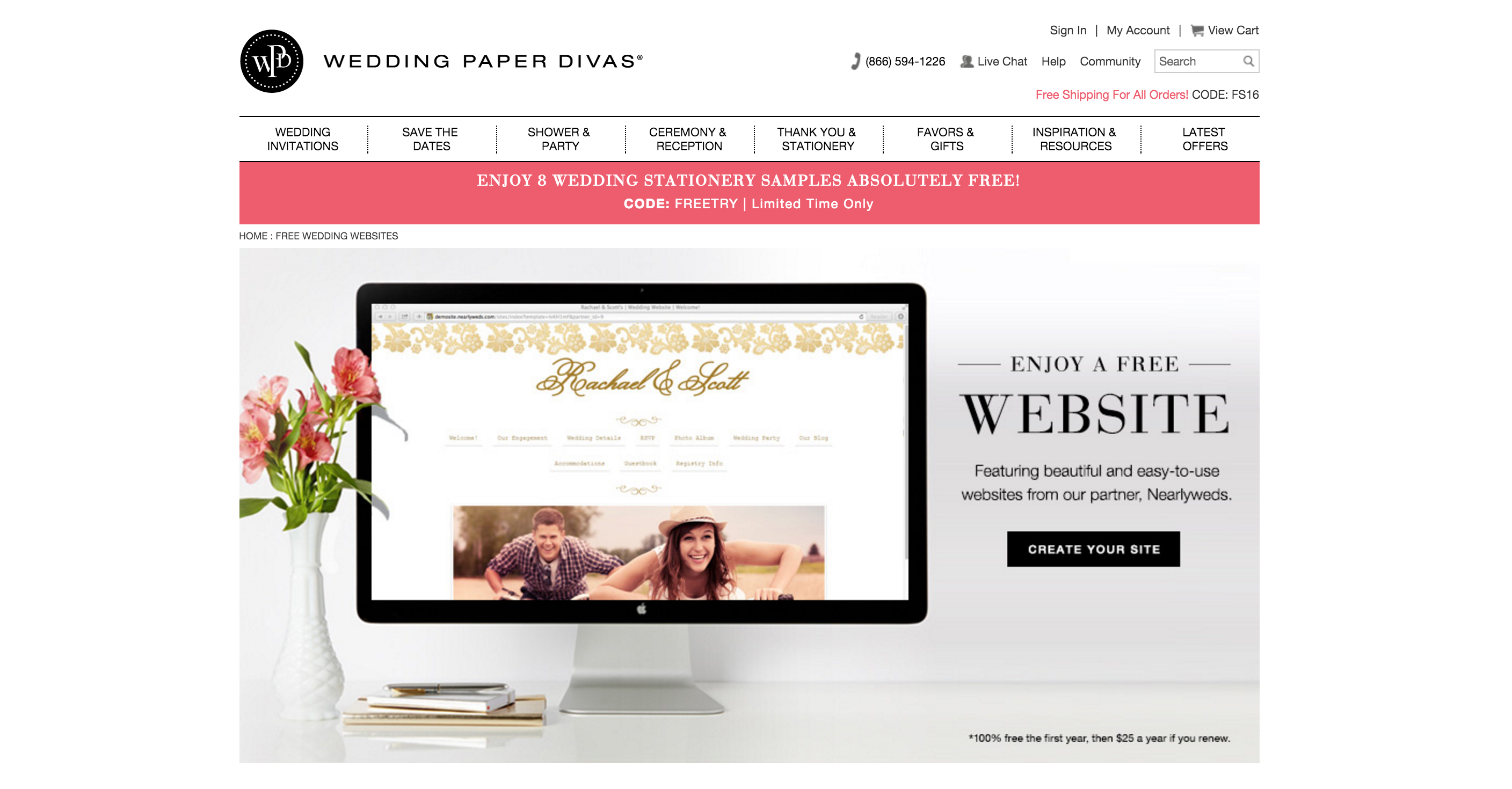 Top Wedding Website Builders - It Started With Yes!