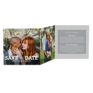 We The Wed Save The Dates