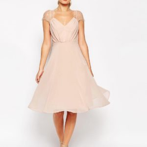 Kate Lace Midi Dress