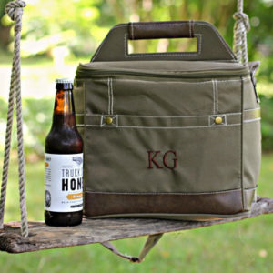 Personalized Groomsmen Insulated Beer Cooler Bag